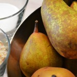 Tarte aux poires façon bourdaloue - uhcocottes